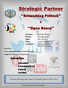Strategic Partner Networking Potluck and Open House